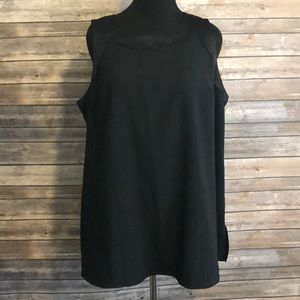 NWT Back zipper blouse